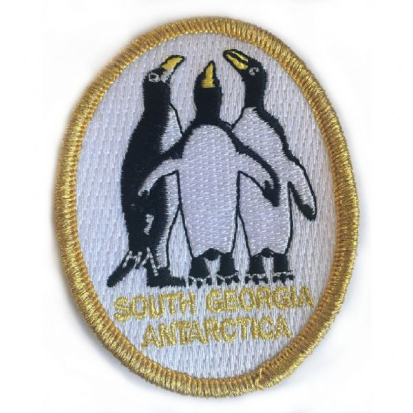 South Georgia Penguin sew on patch